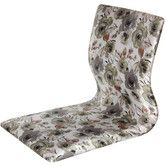 Found it at Wayfair - Tatami Floral Meditation Fabric Lounge Chair