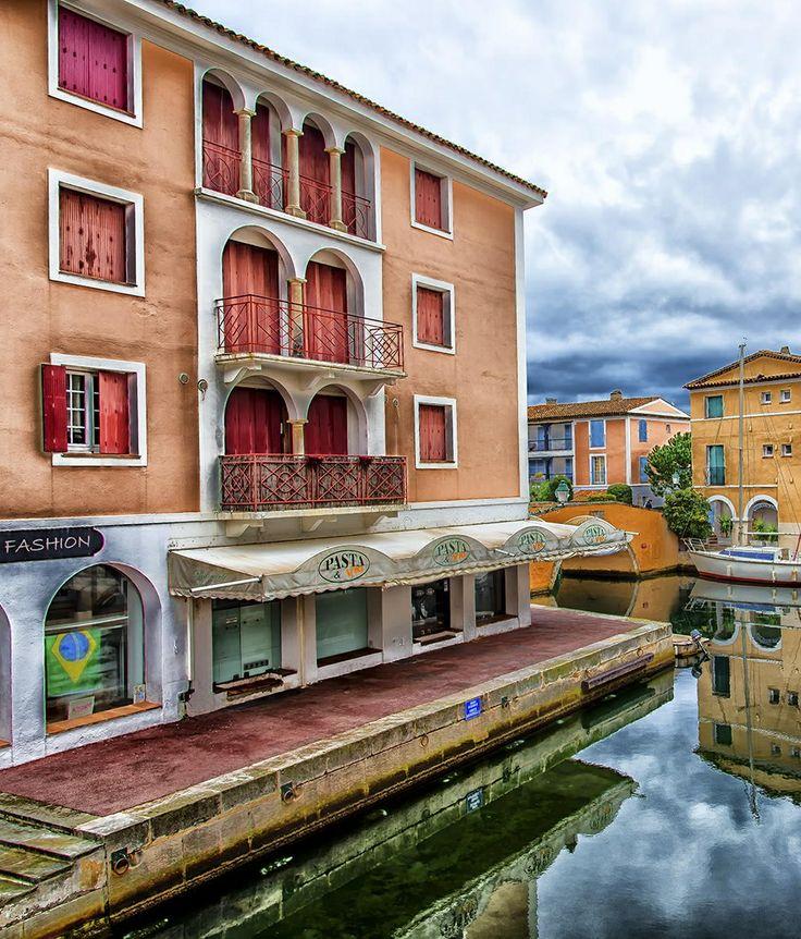 Port Grimaud, near Saint Tropez, in the French Riviera.