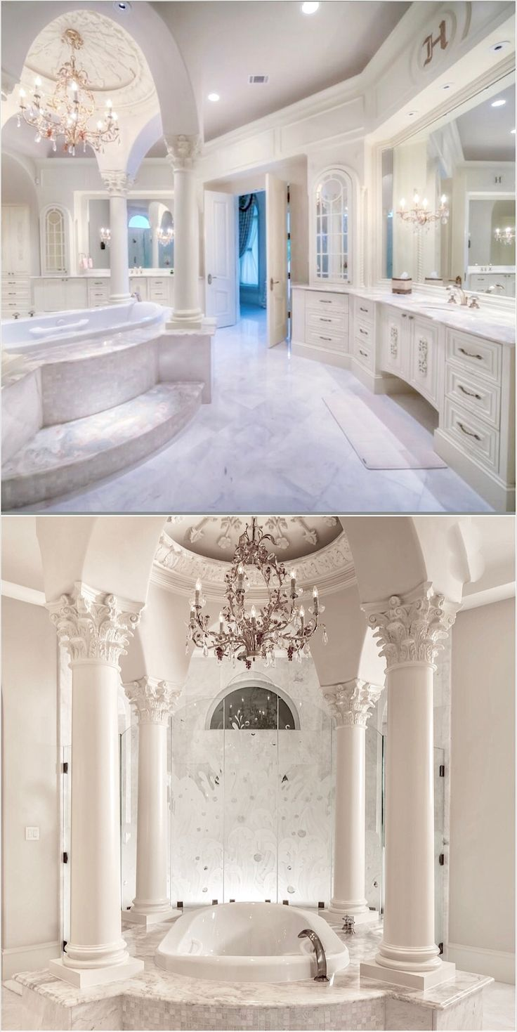 So so attracted to this Master Bathroom Design