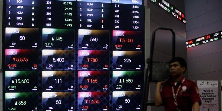 (IHSG) bergerak mixed | PT Kontak Perkasa Futures Cabang Surabaya  Pukul 09.10 IHSG bergerak menguat sebesar 1,72 poin atau 0,03 persen di posisi 5.400,89. Sebanyak 93 saham diperdagangkan menguat, 56 saham melemah dan 102 saham stagnan.  Saham-saham yang membebani pergerakan IHSG di antaranya MYRX dan AGRO. Sementara itu saham-saham yang menopang penguatan indeks meliputi ADRO, LPKR, TARA, TPIA, dan BBRI.  Sementara itu, nilai tukar rupiah pada pagi ini bergerak menguat terhadap dollar AS.