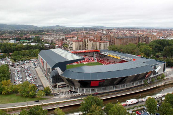 @SportingGijón Estadio Municipal El Molinón #9ine