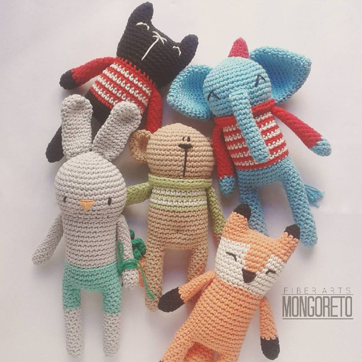 Amigurumi patterns by Mongoreto.