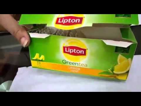 Lipton green tea not good for health danger - YouTube