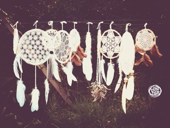 Wedding Decoration Dream Catchers  30 piece of Dream by bohonest