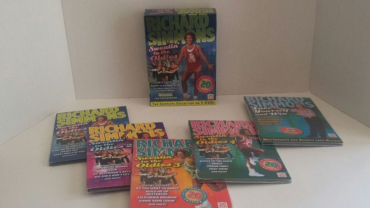 Richard Simmons Sweatin to the Oldies Complete Collection 5 DVD Box Set 2007 | DVDs & Movies, DVDs & Blu-ray Discs | eBay!