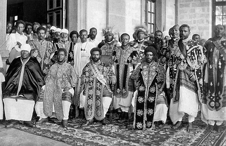 The most ancient lineage in the world is the Ethiopian Royal Family. It is older than that of the Japanese and English royal family by 6000 years. Emperor Haile Sellasie traces his ancestry to King Solomon of Isreal and the black Queen of Sheba and beyond that to Kush/Nubia/Egypt 7000 BCE.