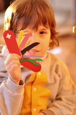 Canivete Suiço de papel - (Instruções no site) Estéfi Machado