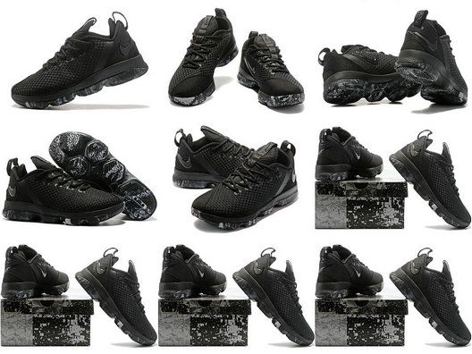 Free Shipping Only 69$ Triple Black Lebron 14 Low