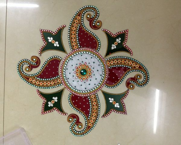 Kundan Rangoli Designs Car Pictures