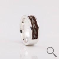 Horsehair ring Tuum, Ribbon 6mm the original collection www.nannasalmi.com