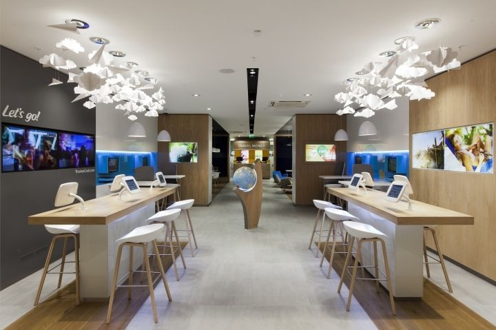Travel agency interiors google search travel agency for Travel agency office interior design
