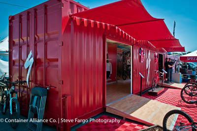 i love re-purposing shipping containers
