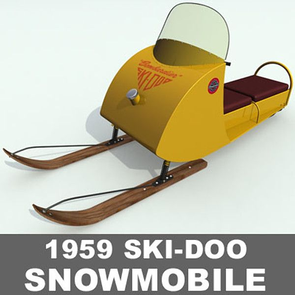 The Ski-Doo Snowmobile -- launched in 1959