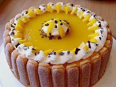 Pfirsich - Joghurt - Torte