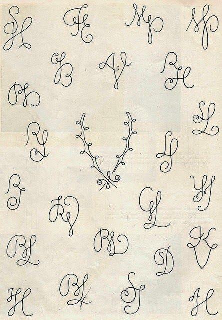 Tattoo Initials Mn: 23 Best Monogram Images On Pinterest