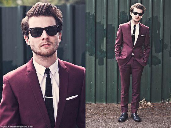 1000  ideas about Maroon Suit on Pinterest | Dark blue suit, Suits