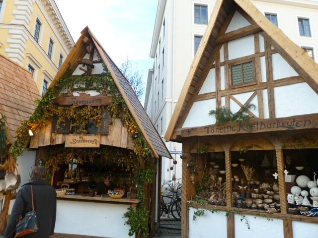 Medieval Christmas Market in Munich, Bavaria, Germany.  I like this one a lot!