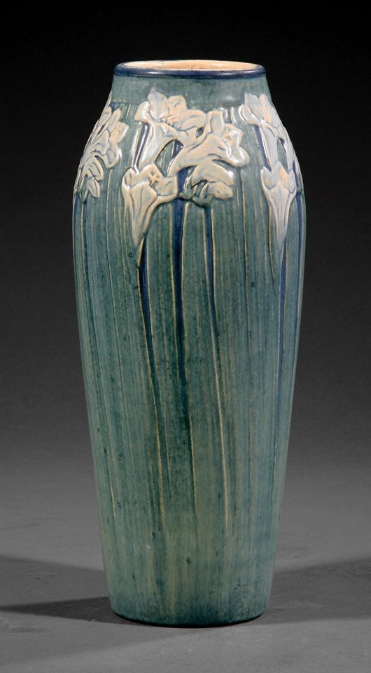 167 best images about newcomb pottery on pinterest vase for Arts and crafts pottery makers
