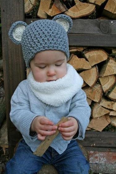 Mäuschen Mütze - Häkelmütze soooo süß