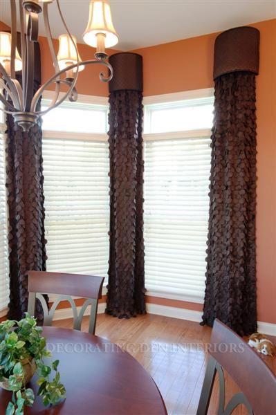 rounded cornice with panels find this pin and more on corner windows treatments