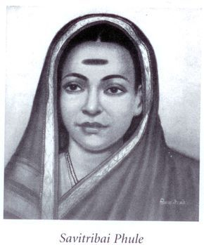 """Savitribai Phule was a social reformer, who, along with her husband, played an important role in improving women's rights in India during British rule. Savitribai was the first female teacher of the first women's school in India. In 1852 she opened a school for Dalit [""""Untouchable""""] girls. For this, she was pelted with garbage in the streets. She also set up a place where pregnant rape victims could deliver their babies safely rather than commit suicide as was expected of them."""