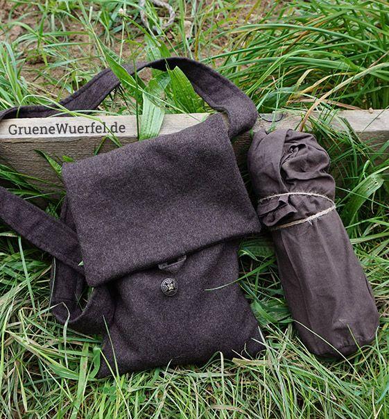 Upcycling: LARP Umhängetaschen aus einer alten Hose