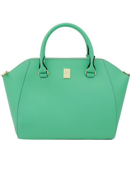 Lumia Mint Synthetic Leather Bag - Korean Fashionista