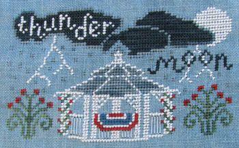 Thunder Moon - Cross Stitch Pattern
