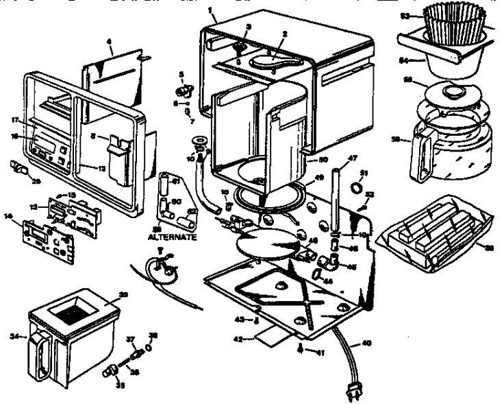 coffee maker circuit diagram