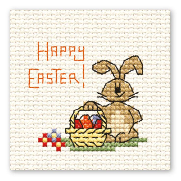 Mini Cross Stitch - Easter