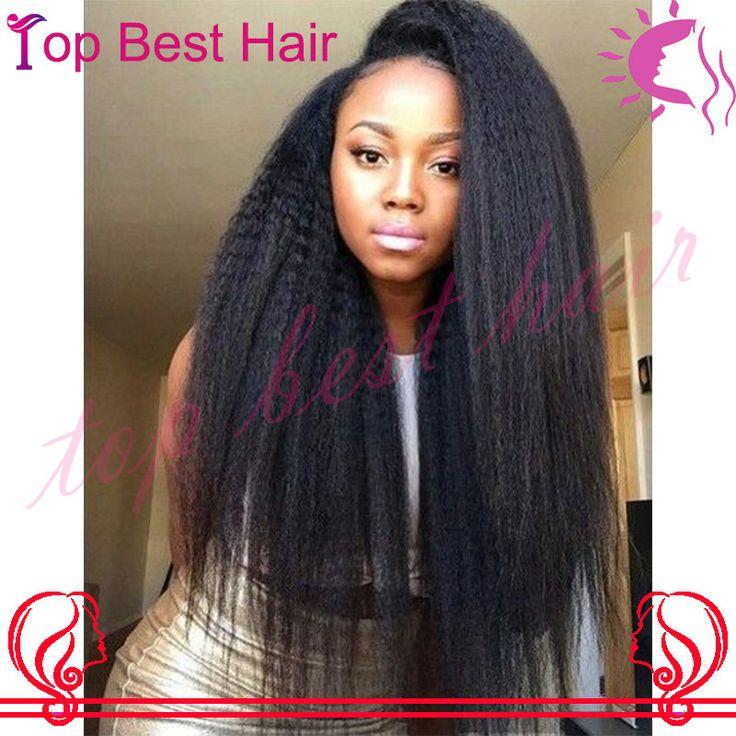 Bliss Wigs Italian Yaki 180 Density Full Lace Wigs Kinky