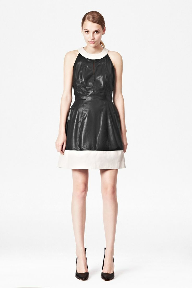 Jive Leather Dress - Sale - French Connection