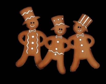 Pepparkakor. Ginger bread