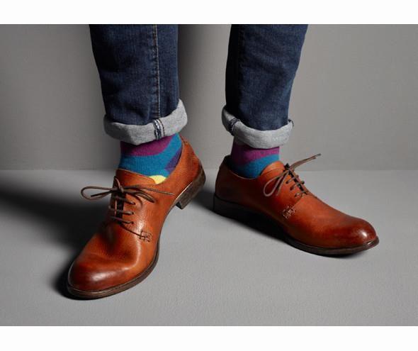 Ботинки джинсы носки сочетание