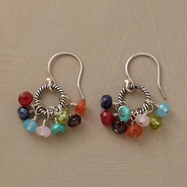 inspiration for using tiny orphan rondell bead & twisty jumpring inventory