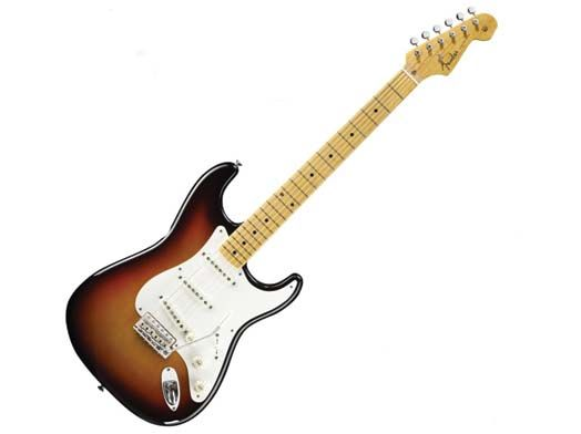 My guitar I have a '64 Fender Strat Sunburst, all original. It was a prize for winning a title in 2011. I don't play well enough to be worthy of the guitar at all, but I admire its awesomeness.