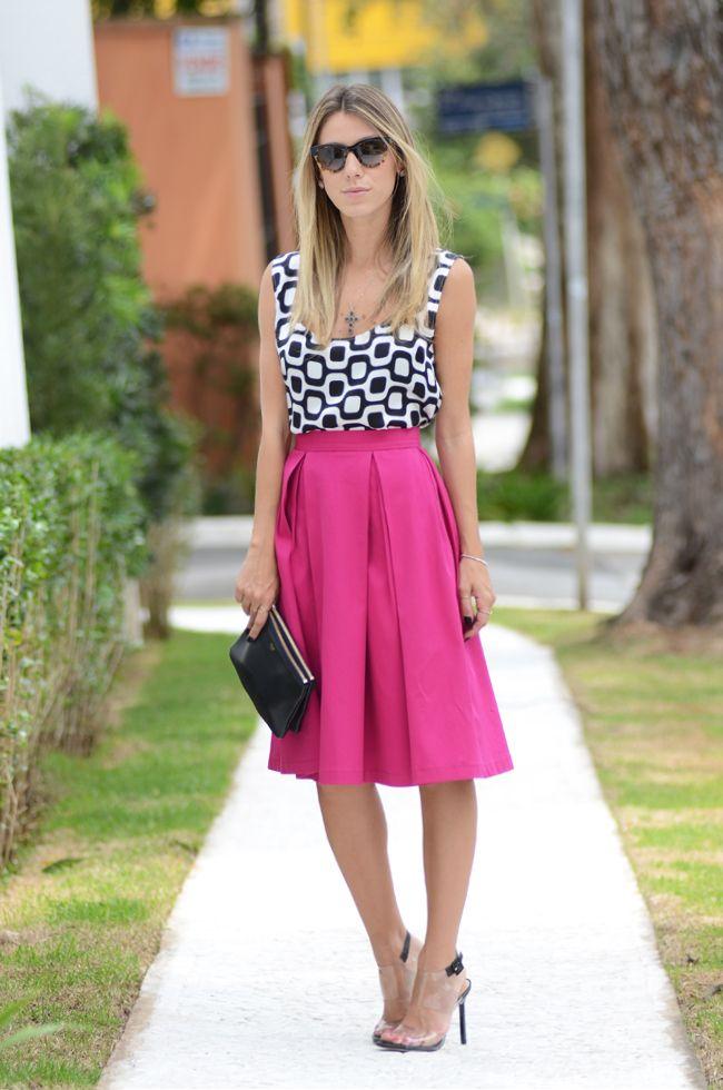 Glam4You por Nati Vozza | Meu look: Pink e Black