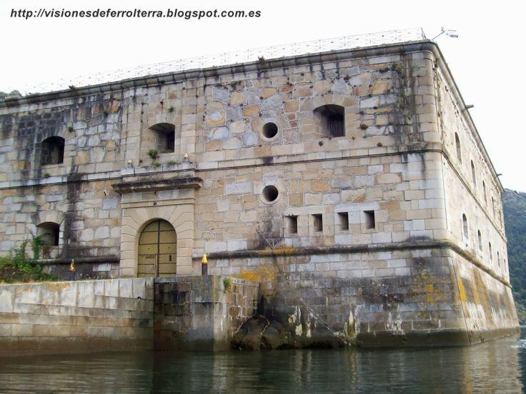 Visiones de Ferrolterra: Castillo de La Palma (Mugardos 1597)