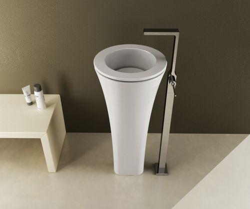 Modern Pedestal Wash Basin by Cielo – Floot-Designed BY: Karim Rashid