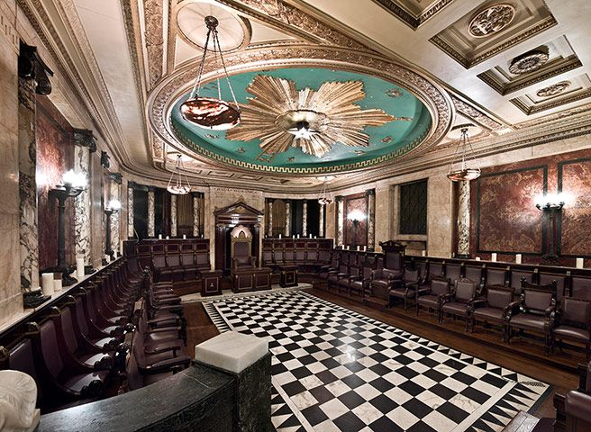 Hidden London interiors: Masonic Temple, Liverpool Street