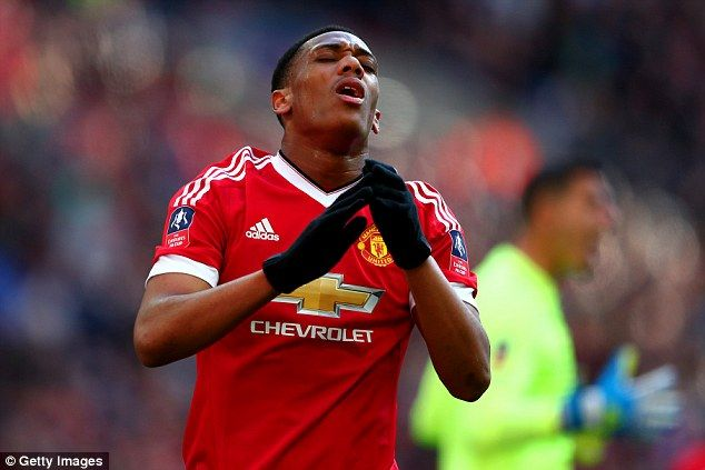 Anthony Martial has come under fire from Manchester United legend Gary Neville