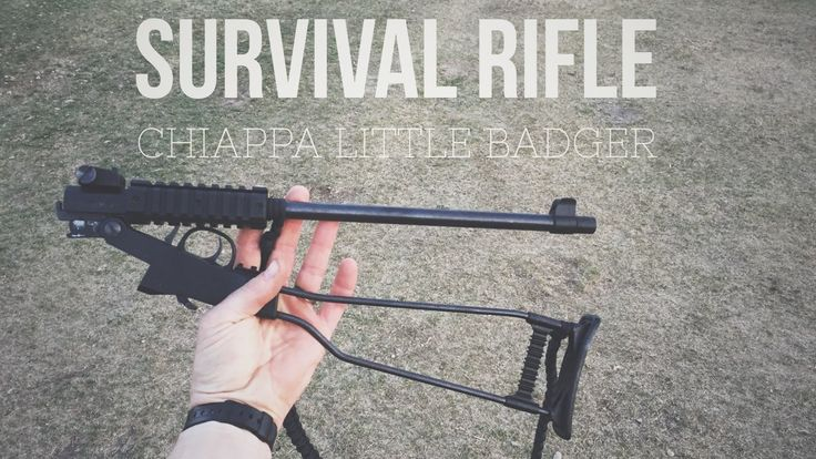 The coolest survival rifle you'll ever see