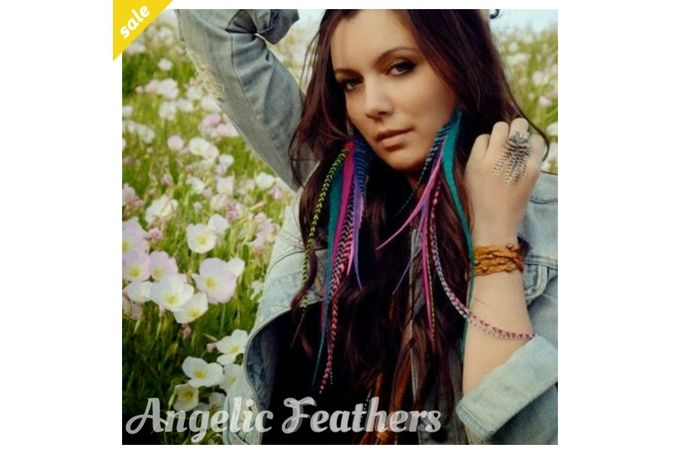 Feather extensions