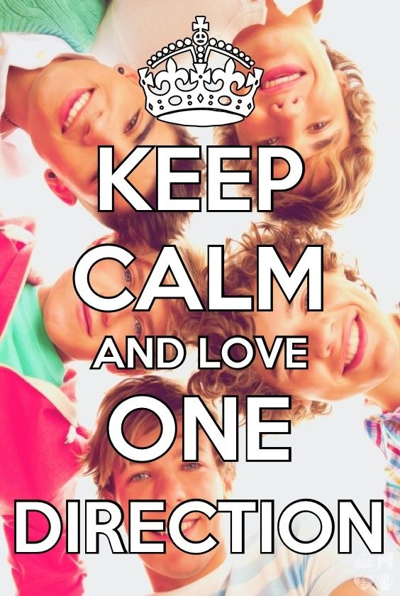 Keep Calm and Love One Direction Minions