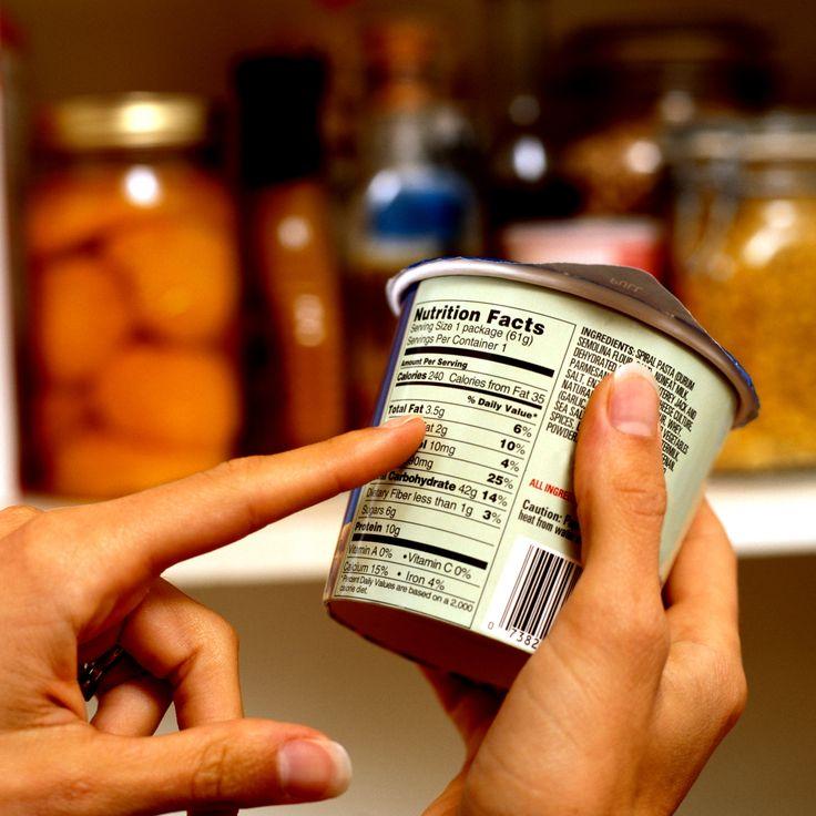 Czytanie etykiet . jak wybierac zdrowe produkty