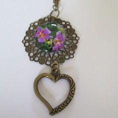 Porte clés bronze  femme