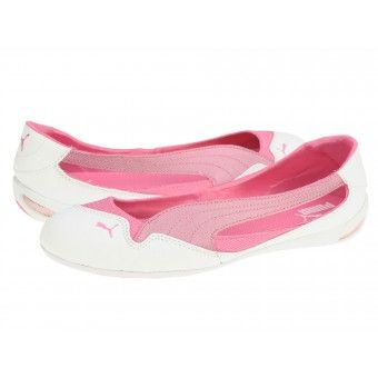 Balerini fete Puma Winning white-cabaret-azalea pink