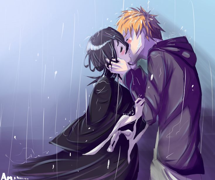 Rukia and Ichigo - Bleach .. I've loved these two ever since I laid eyes on the series. ^^