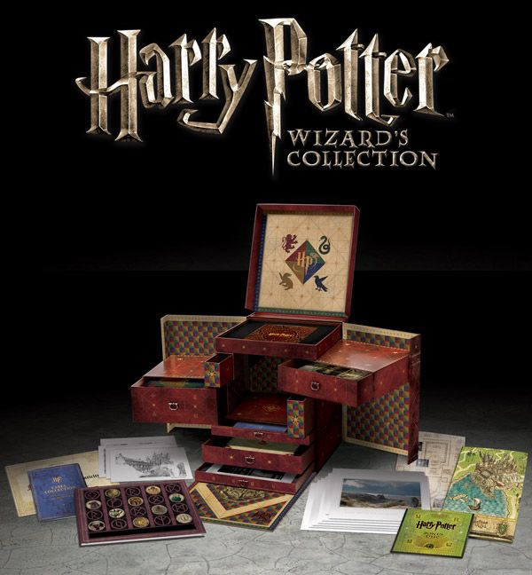 Reveal the exciting features of the Harry Potter Wizard's Collection box set at HarryPotter.com.  Own it September 7th on Blu-ray™ Combo Pack with UltraViolet Digital Copy