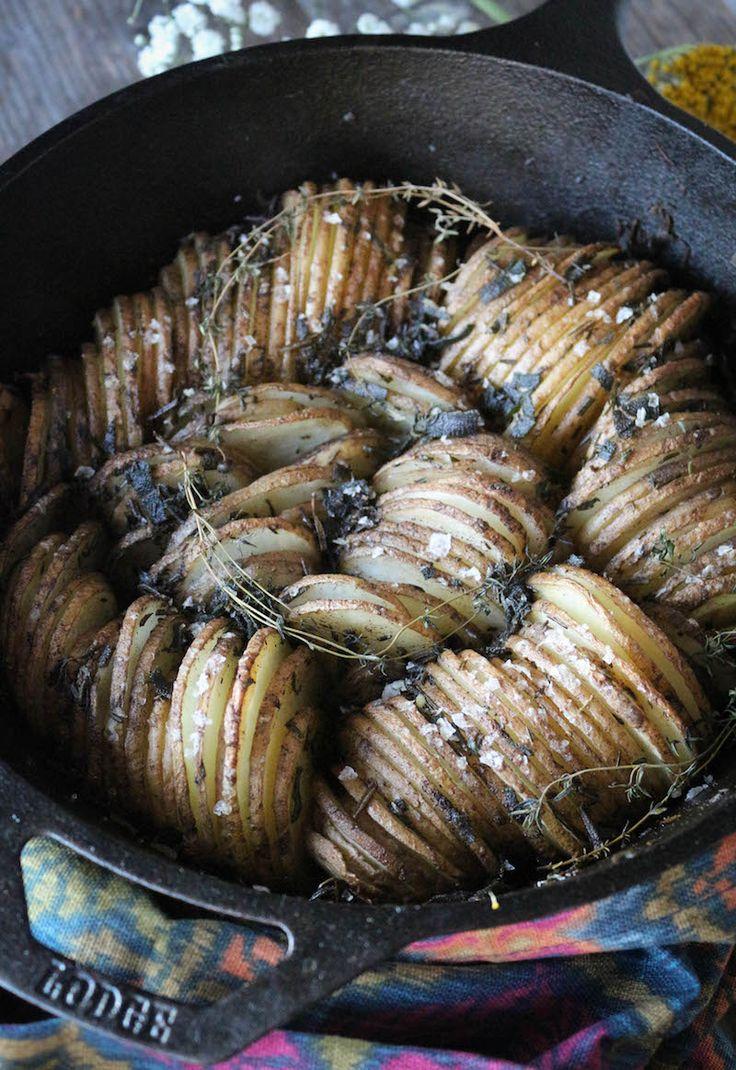 PaleOMG Thanksgiving Brown Butter & Herb Skillet Potatoes